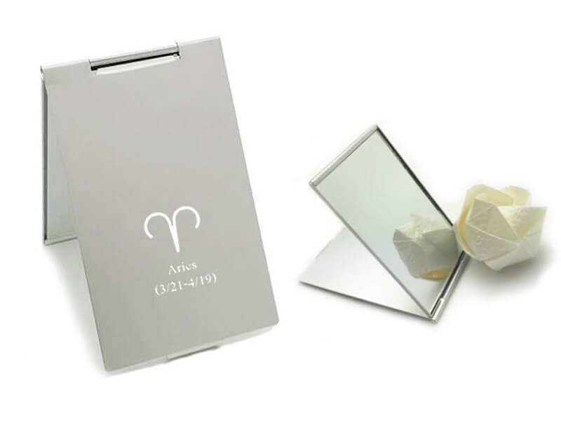Silver Pocket Mirror