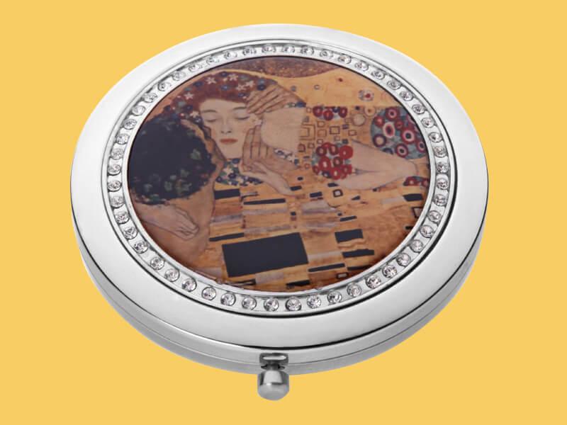 Diamond Compact Mirror