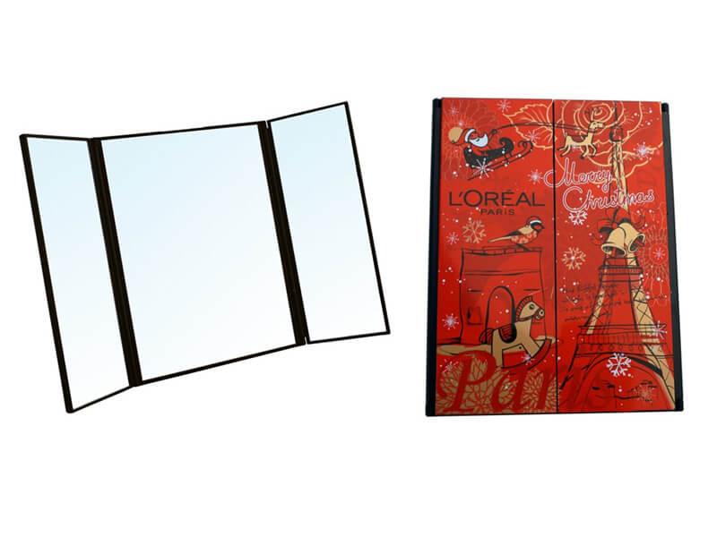 Tri Fold Travel Mirror